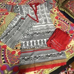 Dresses & Skirts - Beautiful cotton Salwar Kameez